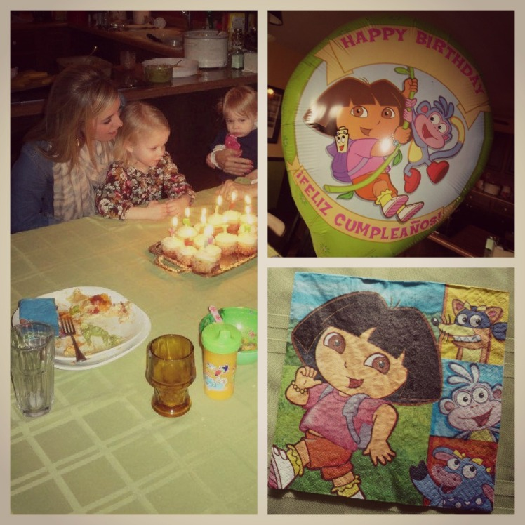 Celebrated the Big 6, Dora style!